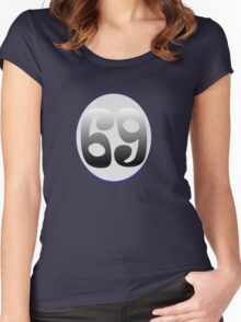 69 Bottles of Beer on the Wall Women's Fitted Scoop T-Shirt