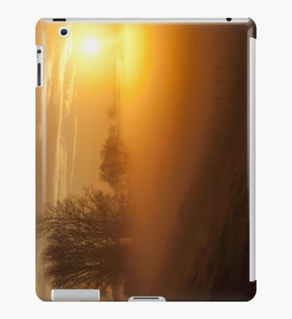 Foggy Sunrise iPad iPad Case/Skin