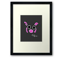 Pig Signature Downtown L.A Framed Print