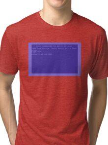 Commodore Screen Tri-blend T-Shirt