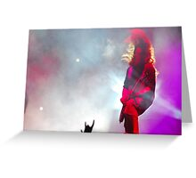 Mark Morton Greeting Card