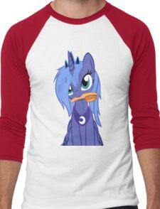 Luna ,Messy Mane  Men's Baseball ¾ T-Shirt