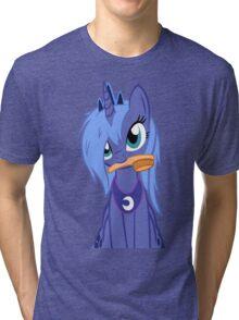 Luna ,Messy Mane  Tri-blend T-Shirt