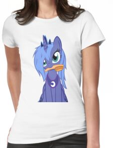 Luna ,Messy Mane  Womens Fitted T-Shirt