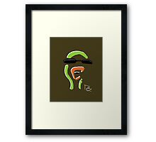 Duck Signature Downtown L.A Framed Print