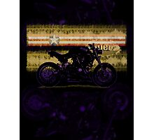 modified buell 1200 Photographic Print