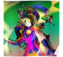 Colour Figure Poster