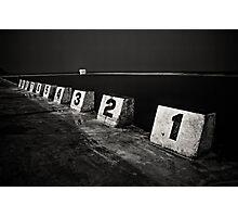 1-2-10 mono Photographic Print