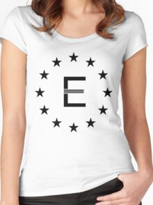 Enclave Logo (Shirt & Stickers) Women's Fitted Scoop T-Shirt