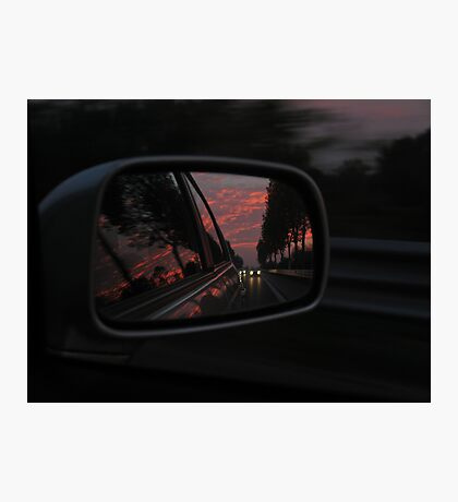 HEADING HOME AT SUNSET Photographic Print
