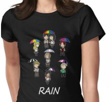 RAIN - Chibi Cast Womens Fitted T-Shirt