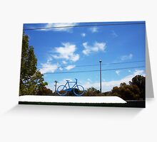The Bicycle Two - 13 11 12 Greeting Card