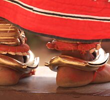 Indian Dancing Feet - Kerala by TravelShots