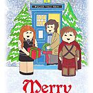 11th Doctor with Amy amd Rory by HappyDoctors