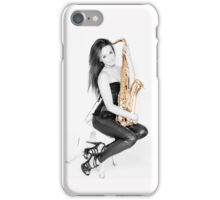 Black & Gold iPhone Case/Skin