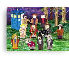 The Stargazing Doctors Canvas Print