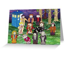 The Stargazing Doctors Greeting Card