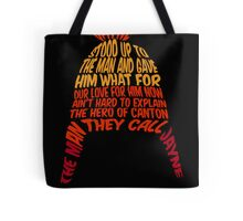 Cunning hat Tote Bag