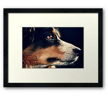 faraway eyes Framed Print