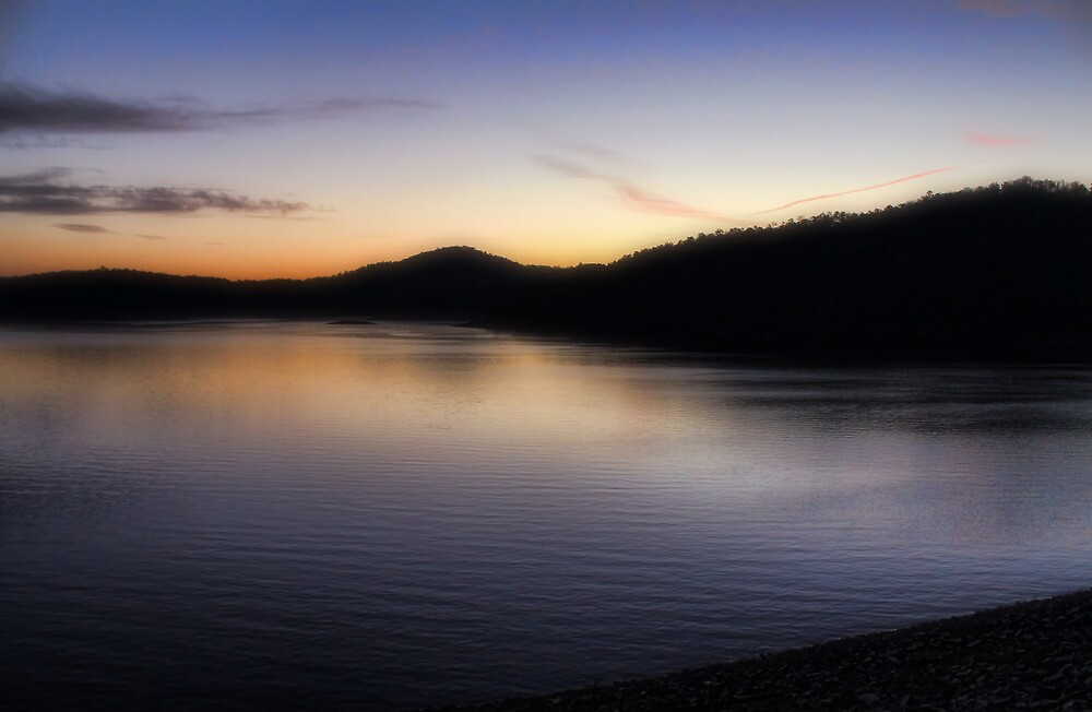 Sunrise At Broken Bow Lake by Carolyn  Fletcher