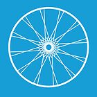 bike wheel by Roxana Crivat