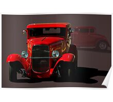 1931 Ford Hot Rod Coupe Poster