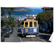 The Tram in San Francisco Poster