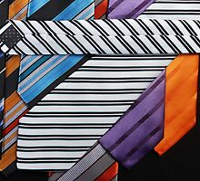 Close-up photo of color men's tie by quangmauthanh