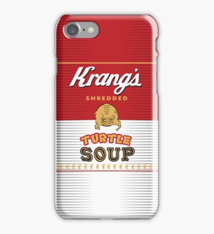 Krang's Shredded Turtle Soup iPhone Case/Skin