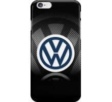 vw logo iPhone Case/Skin