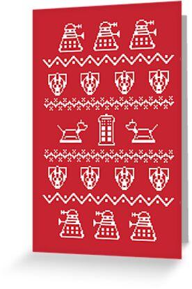 Timey Wimey Sweater by Fanboy30