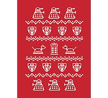 Timey Wimey Sweater Photographic Print
