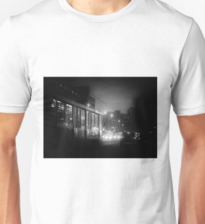 Trolleybus Pinhole Camera Abstract Print Unisex T-Shirt