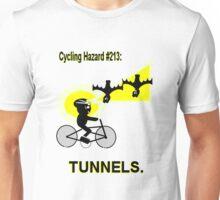 Cycling Hazard #213: Tunnels/Underpasses Unisex T-Shirt