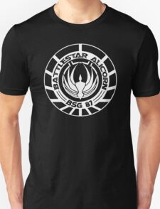 Battlestar Galactica Distressed Badge T-Shirt
