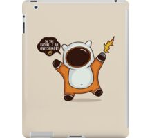 I am Awesome, But... iPad Case/Skin