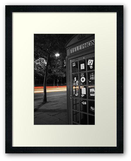 London Telephone Box by slkphotography