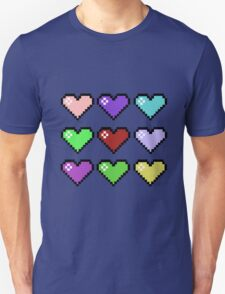 Retro Hearts T-Shirt