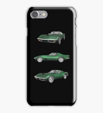 Green 1970 Corvette iPhone Case/Skin