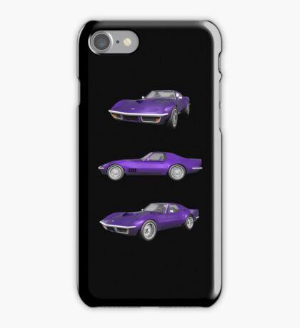 Purple 1970 Corvette iPhone Case/Skin