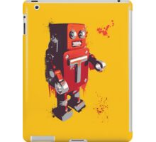 Red Tin Robot Splattery Shirt or iPhone Case iPad Case/Skin