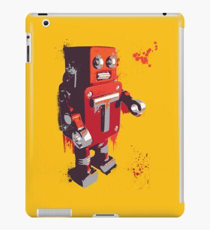 Red Tin Robot Splattery Shirt or iPhone Case iPad Case/Skin