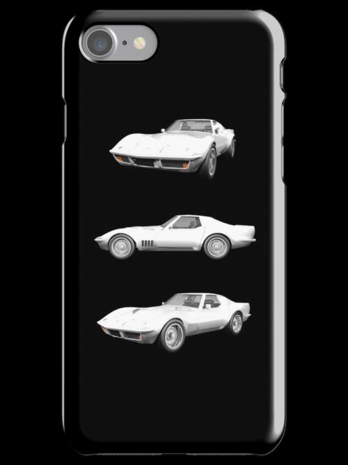 White 1970 Corvette by bradyarnold