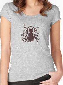 'Crazy Cat Lady' A badge of honor Women's Fitted Scoop T-Shirt