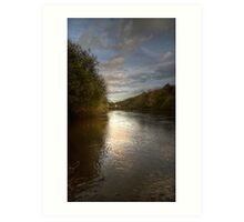 River Severn Ironbridge.. Art Print