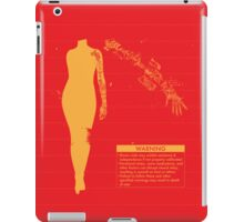 Bionic Arm Warning Shirt iPad Case/Skin