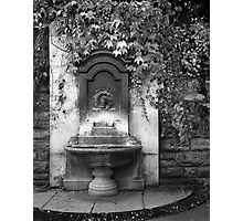 Dry Fountain Photographic Print