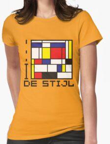I LOVE DE STIJL T-shirt Womens Fitted T-Shirt