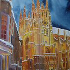 Ipod case Christmas in Canterbury by Beatrice Cloake