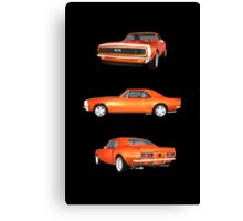 Orange 1967 Camaro SS Canvas Print